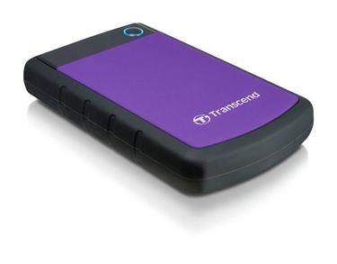 Transcend StoreJet 25H3P USB 3.0 2TB External Hard Disk Price in India