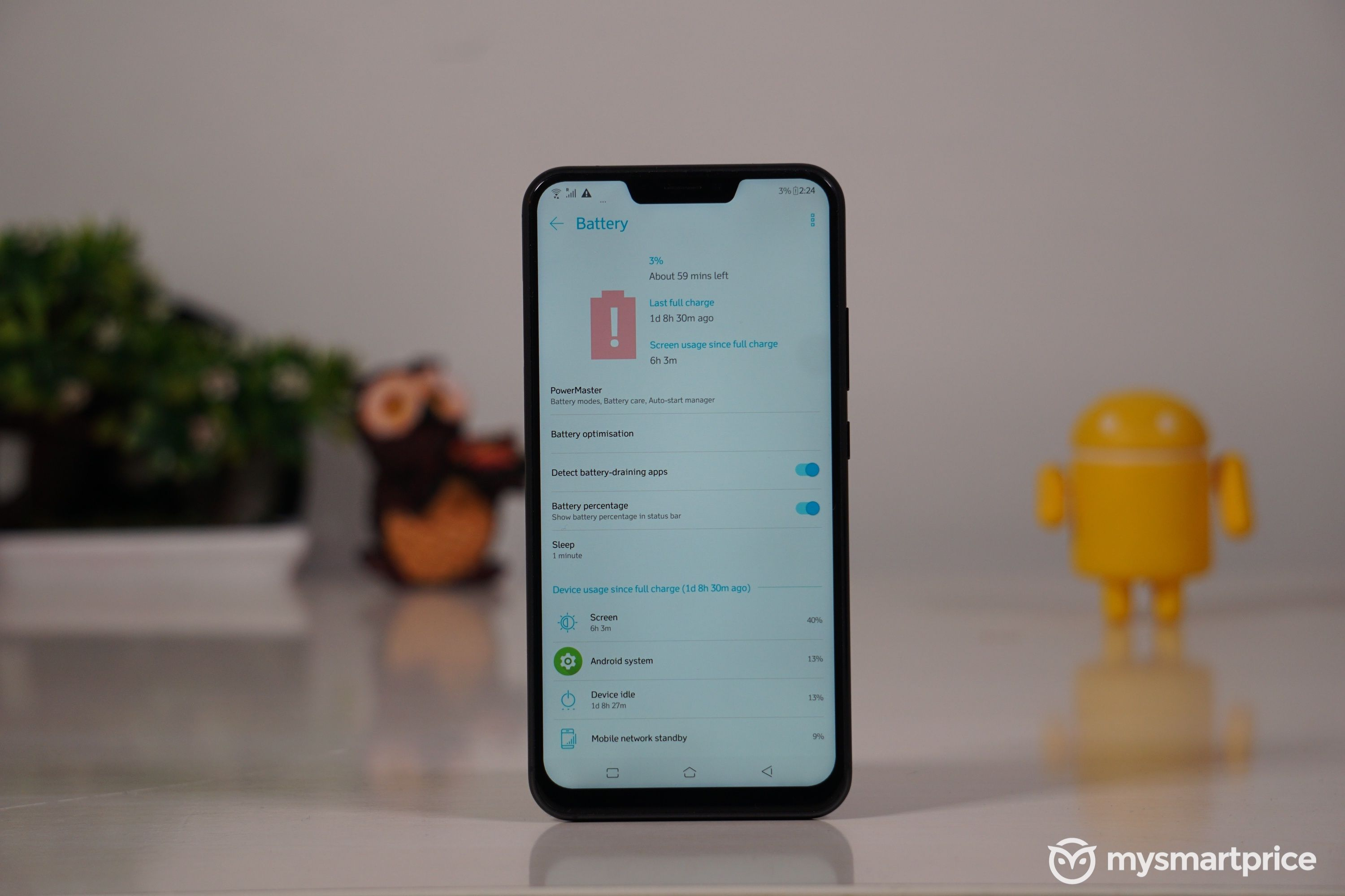 ASUS Zenfone 5Z Review battery life