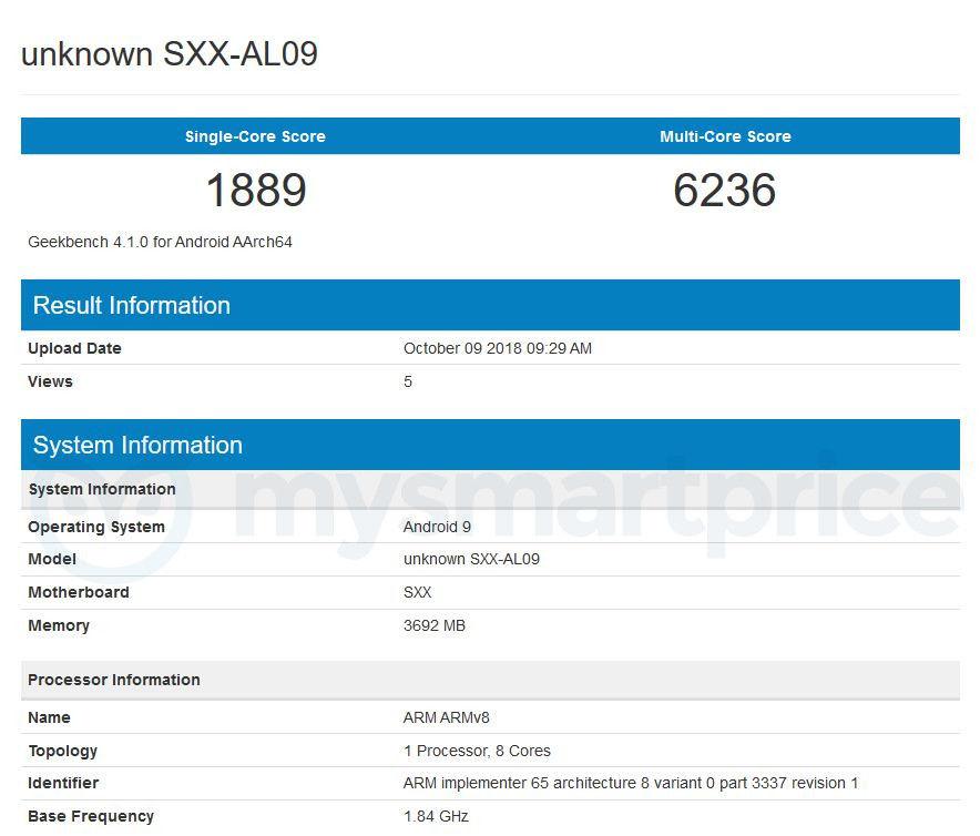 Huawei MediaPad M5 Geekbench Listing Reveals Imminent