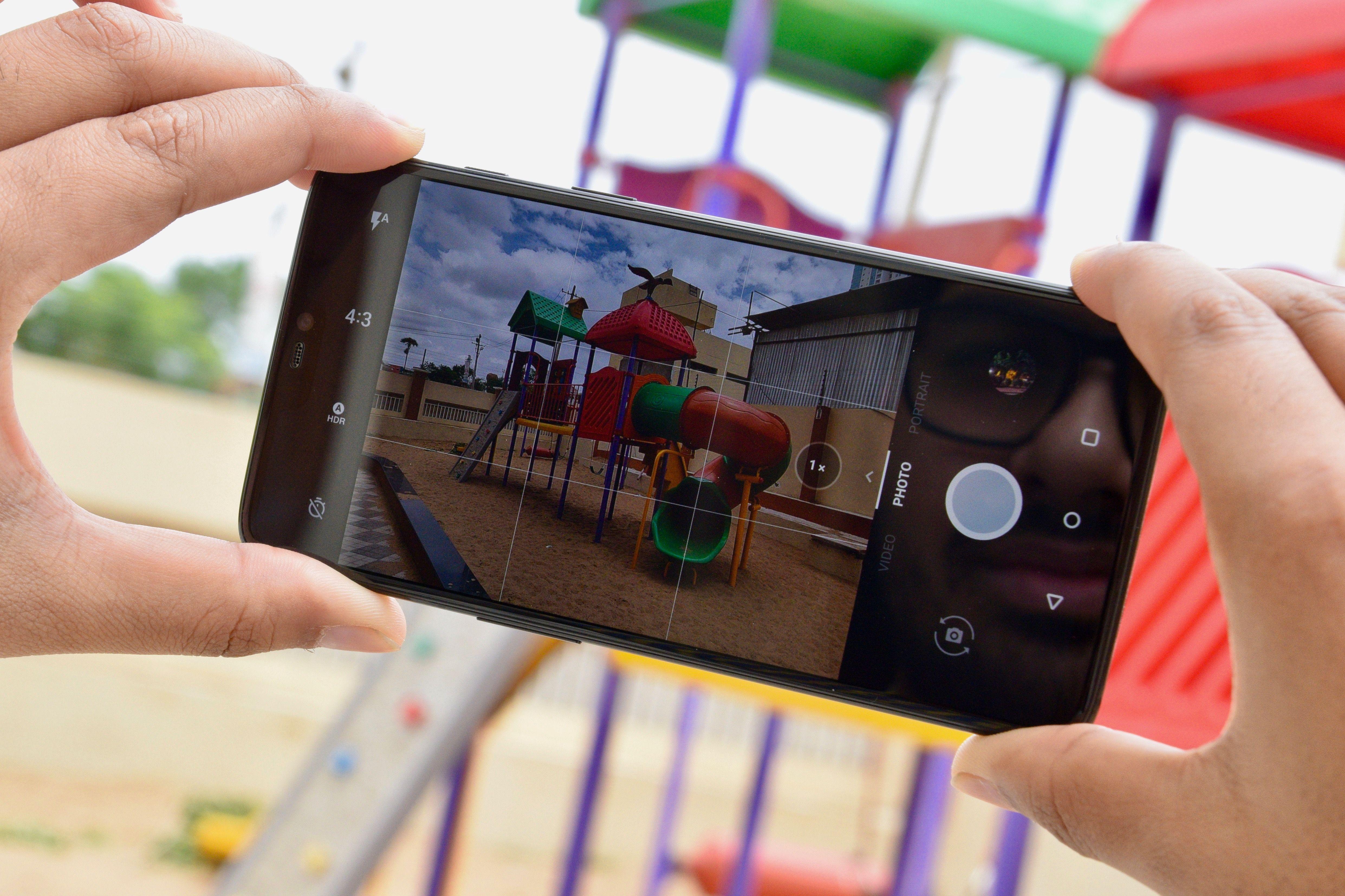 OnePlus 6 Camera App UI