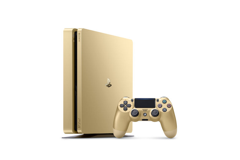 PS4 Slim Limited Edition Gold