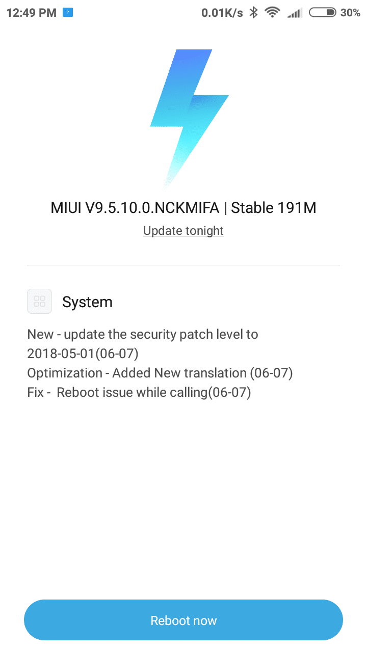 Redmi 5A OS Update in India: May Security Patch Rolled Out