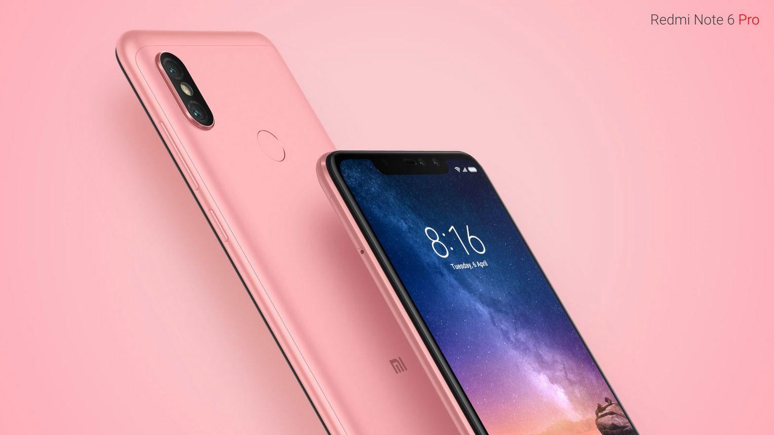 Xiaomi Redmi Note 6 Pro Rose Gold