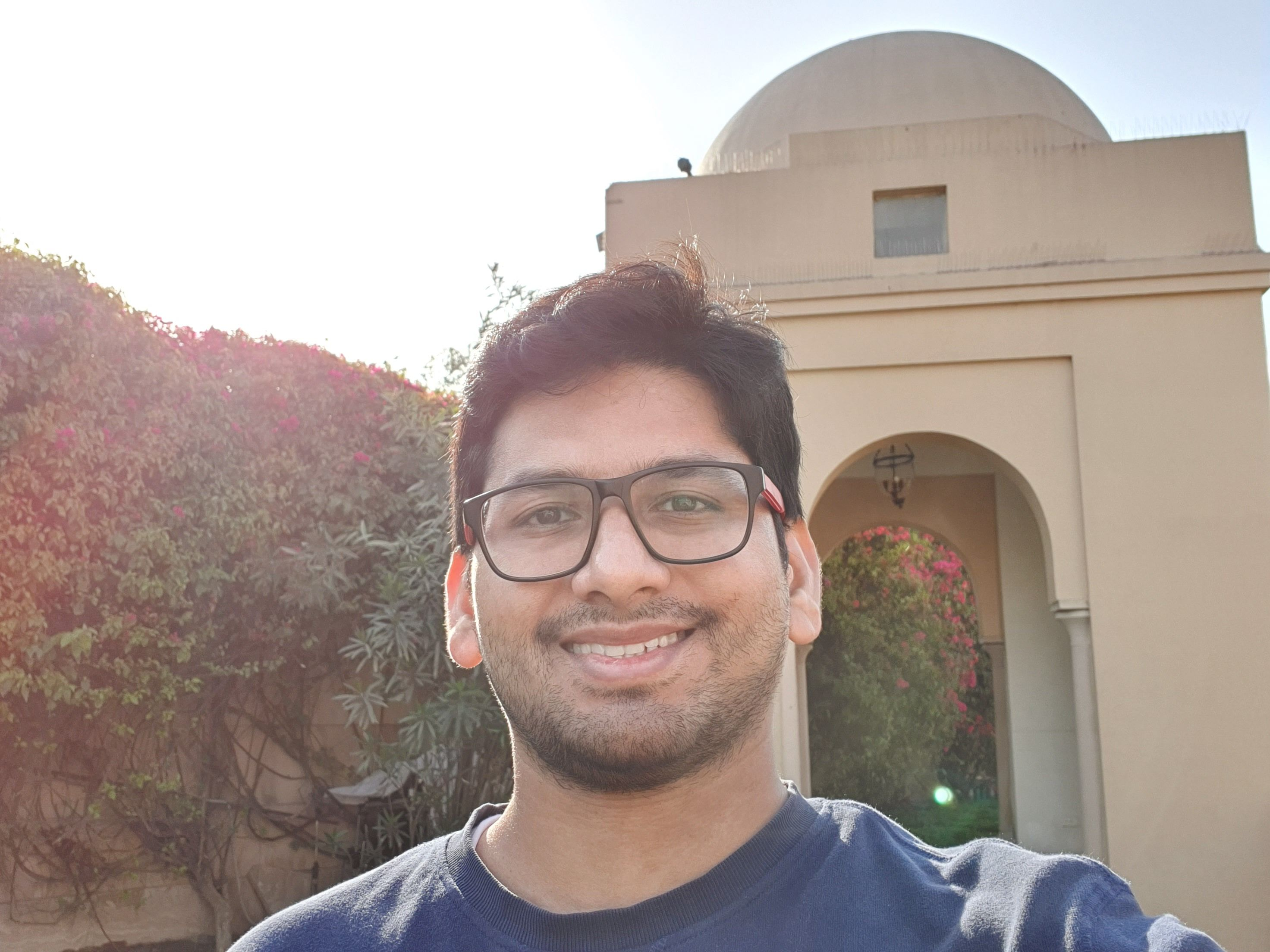 Samsung Galaxy S10+ Camera Sample Selfie Daylight