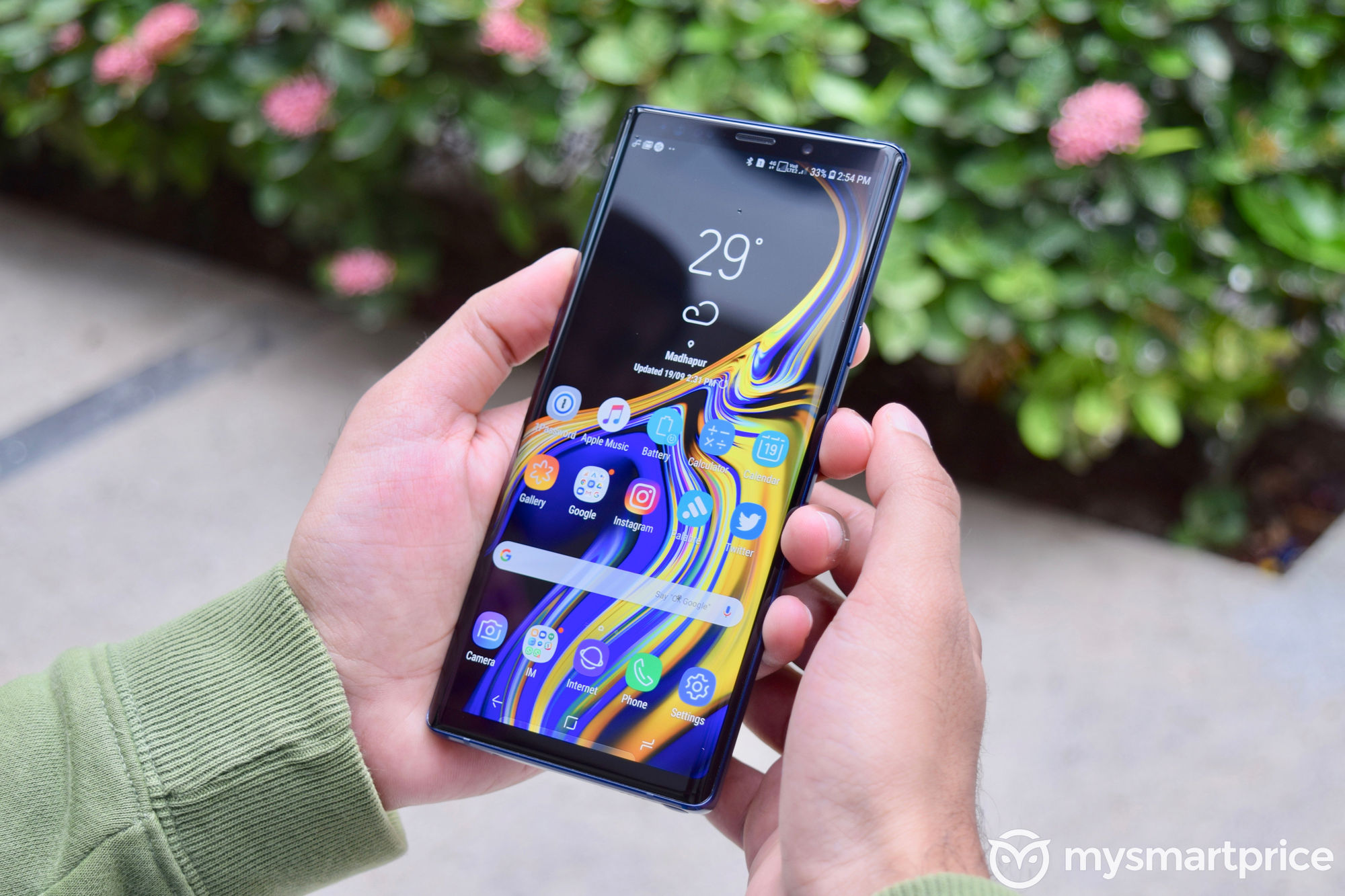 Samsung Galaxy Note 9 - Screen