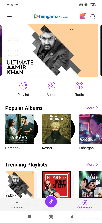 Xiaomi Redmi Note 7 Pro UI Design: Mi Music