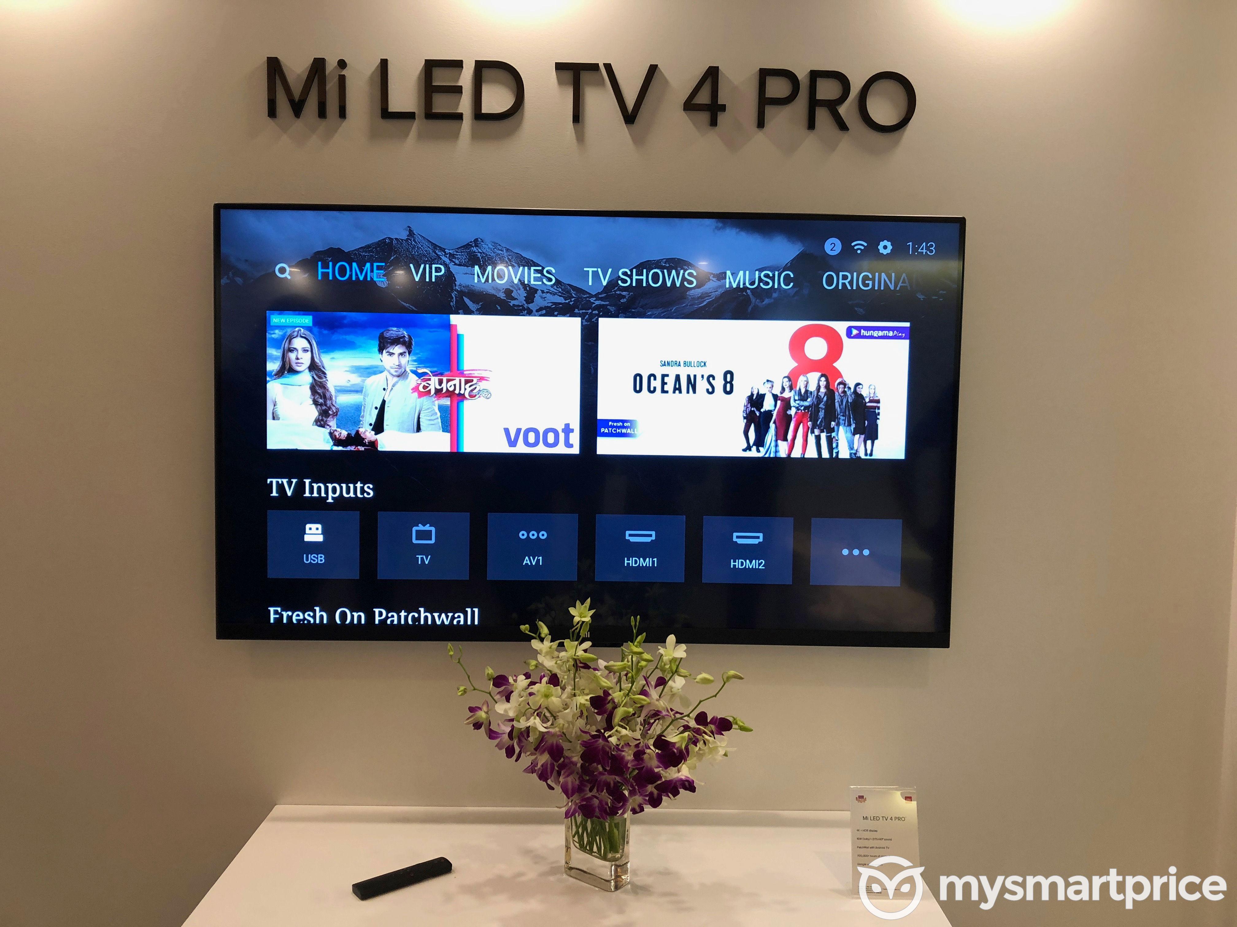 42c9e899603 Mi TV 4 Pro (55)  55-inch 4K HDR Smart TV