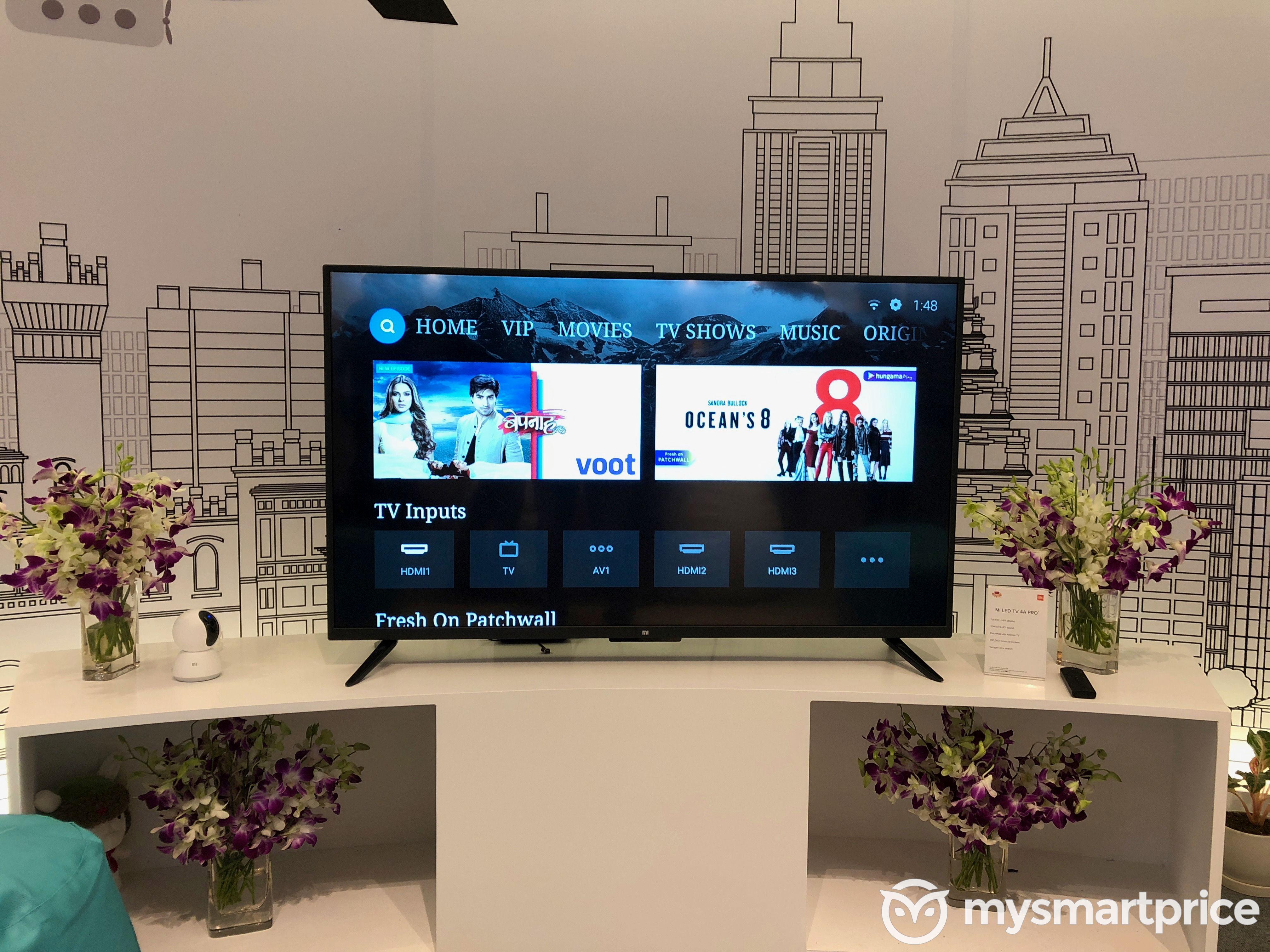 Mi TV 4 Pro 55-inch, Mi TV 4A Pro 49-inch, Mi TV 4C Pro 32-inch
