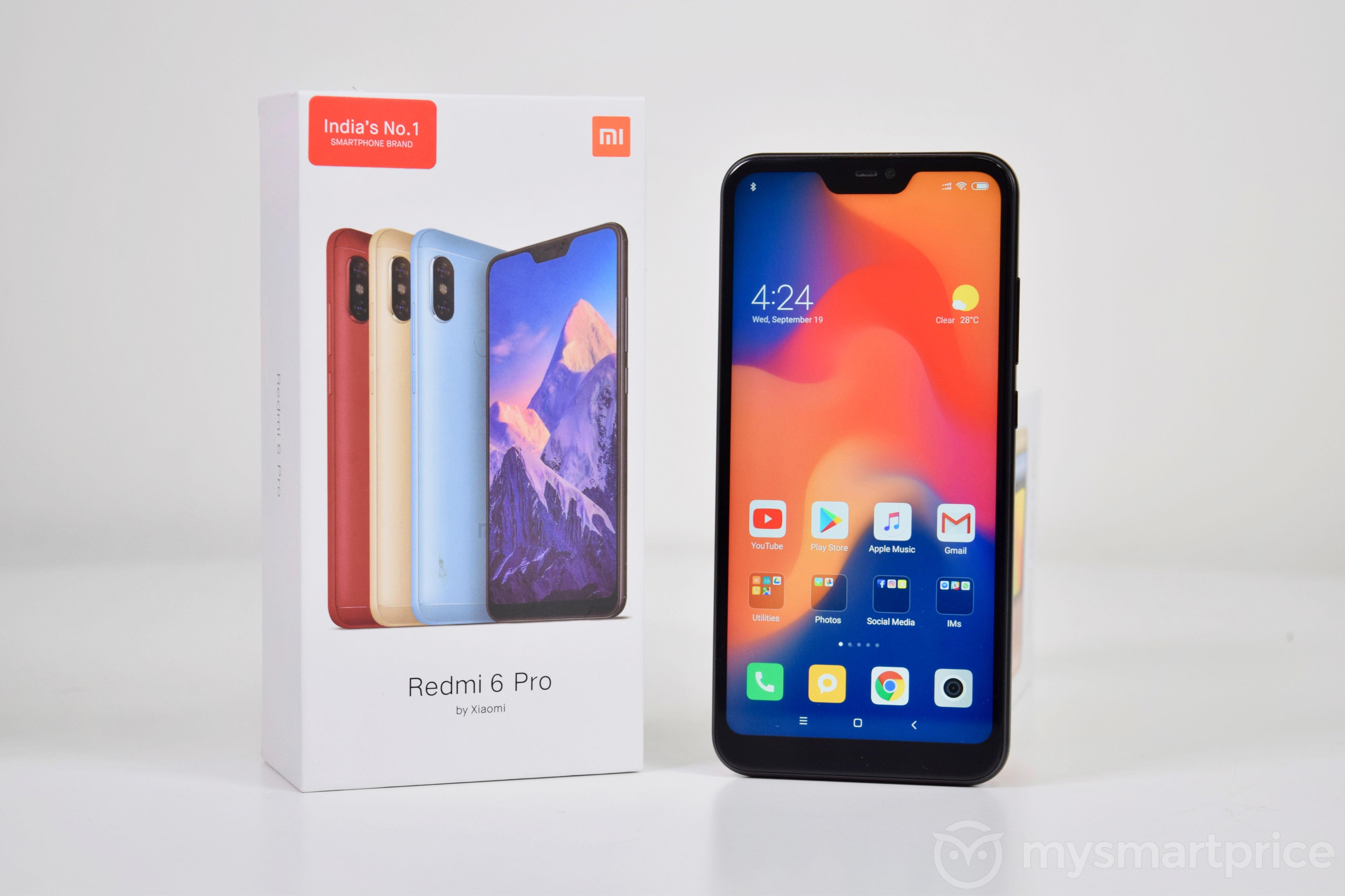 Xiaomi Redmi 6 Pro Review: Blurring The Lines Between Redmi And Redmi Note  Series - MySmartPrice