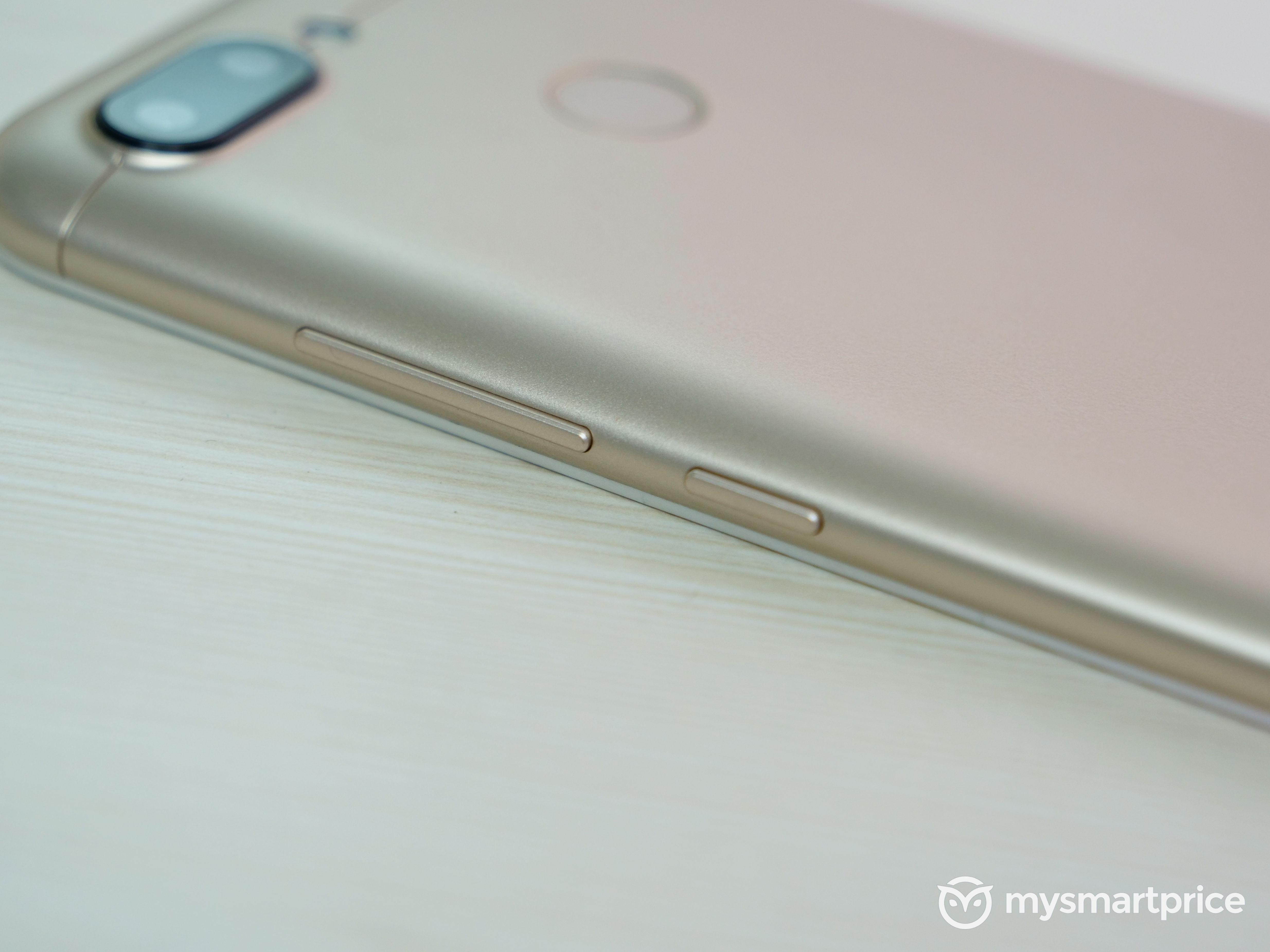 Xiaomi Redmi 6 Power Volume Buttons
