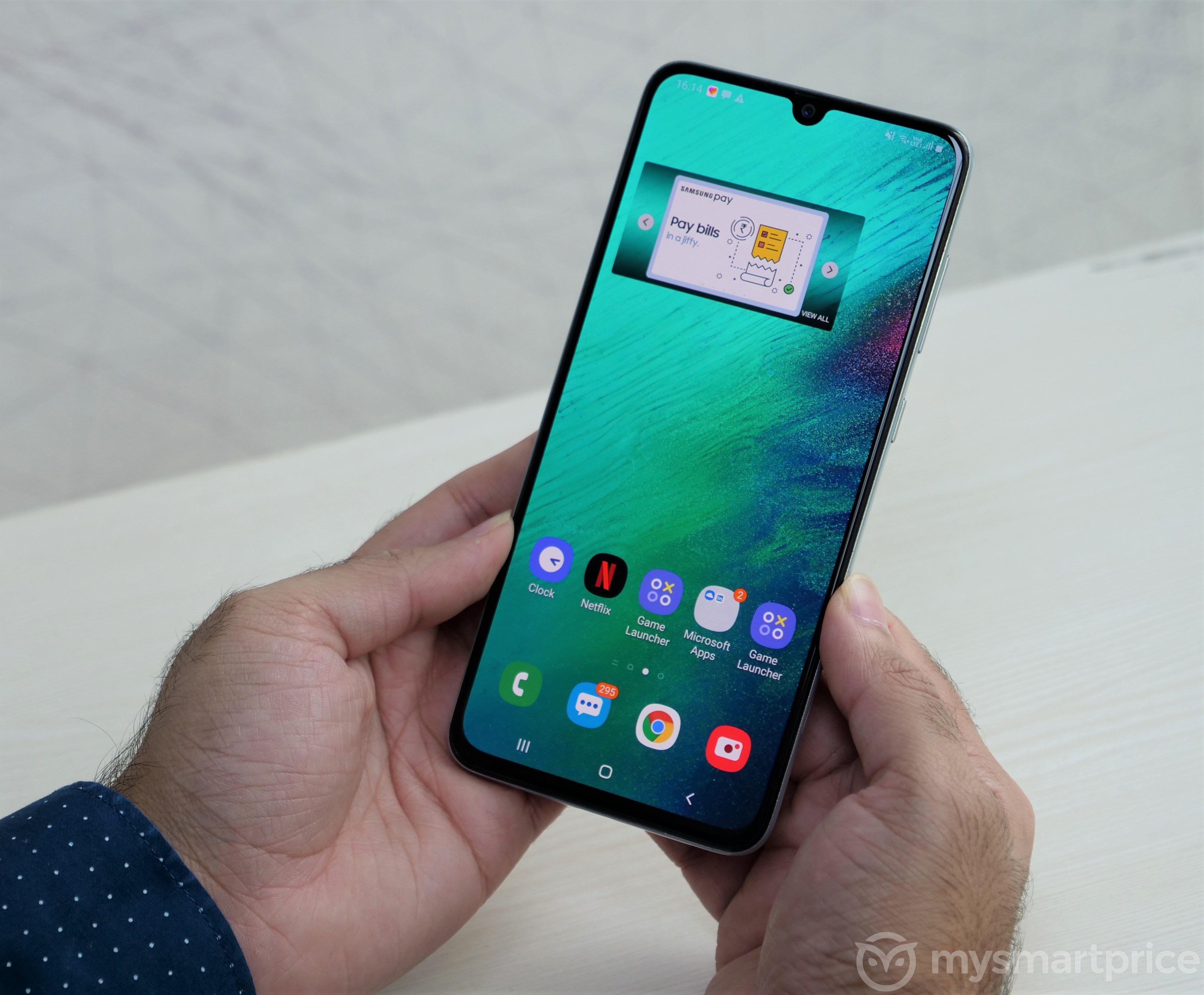 Samsung Galaxy A70 UI1