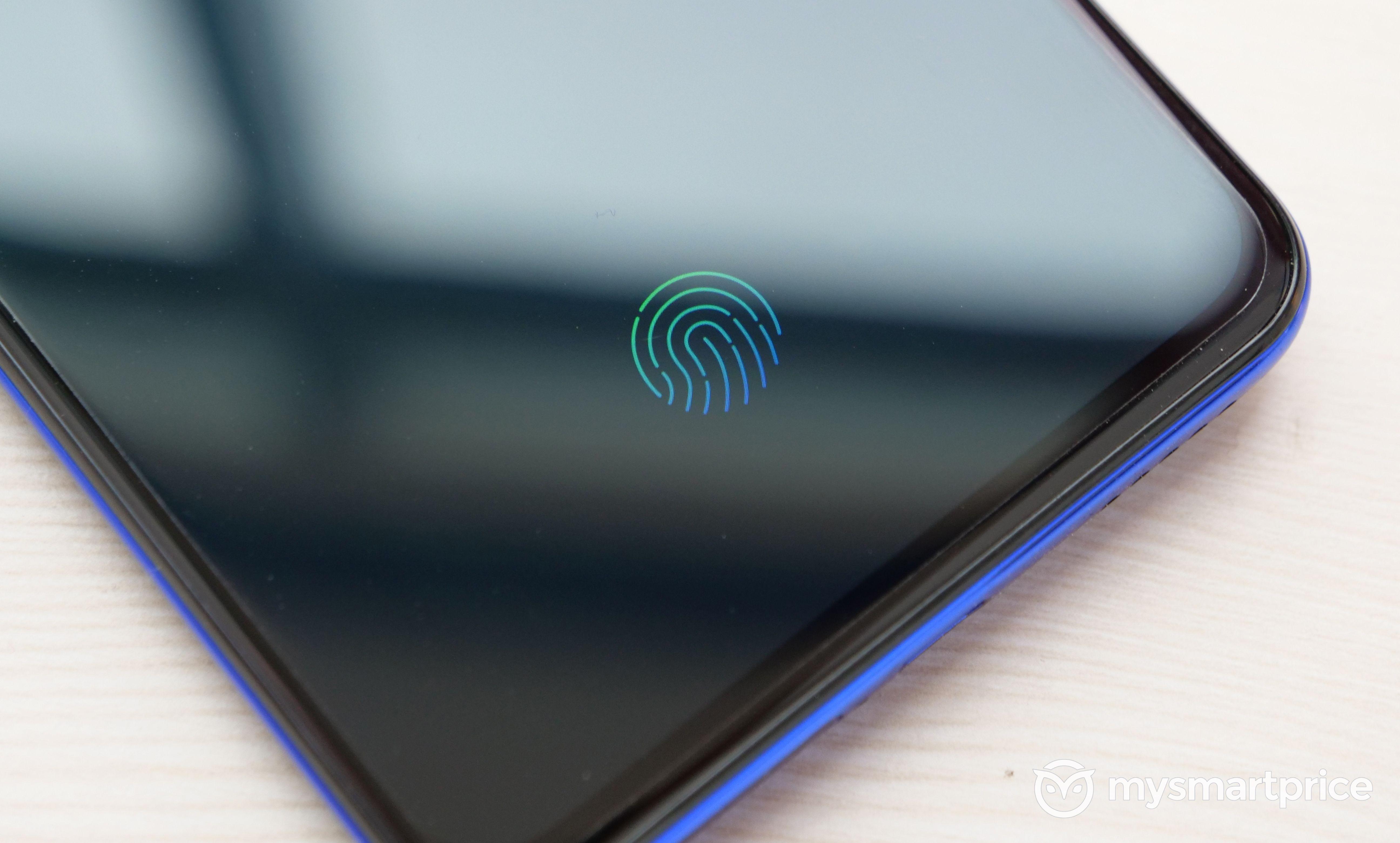 Vivo V15 Pro fingerprint sensor