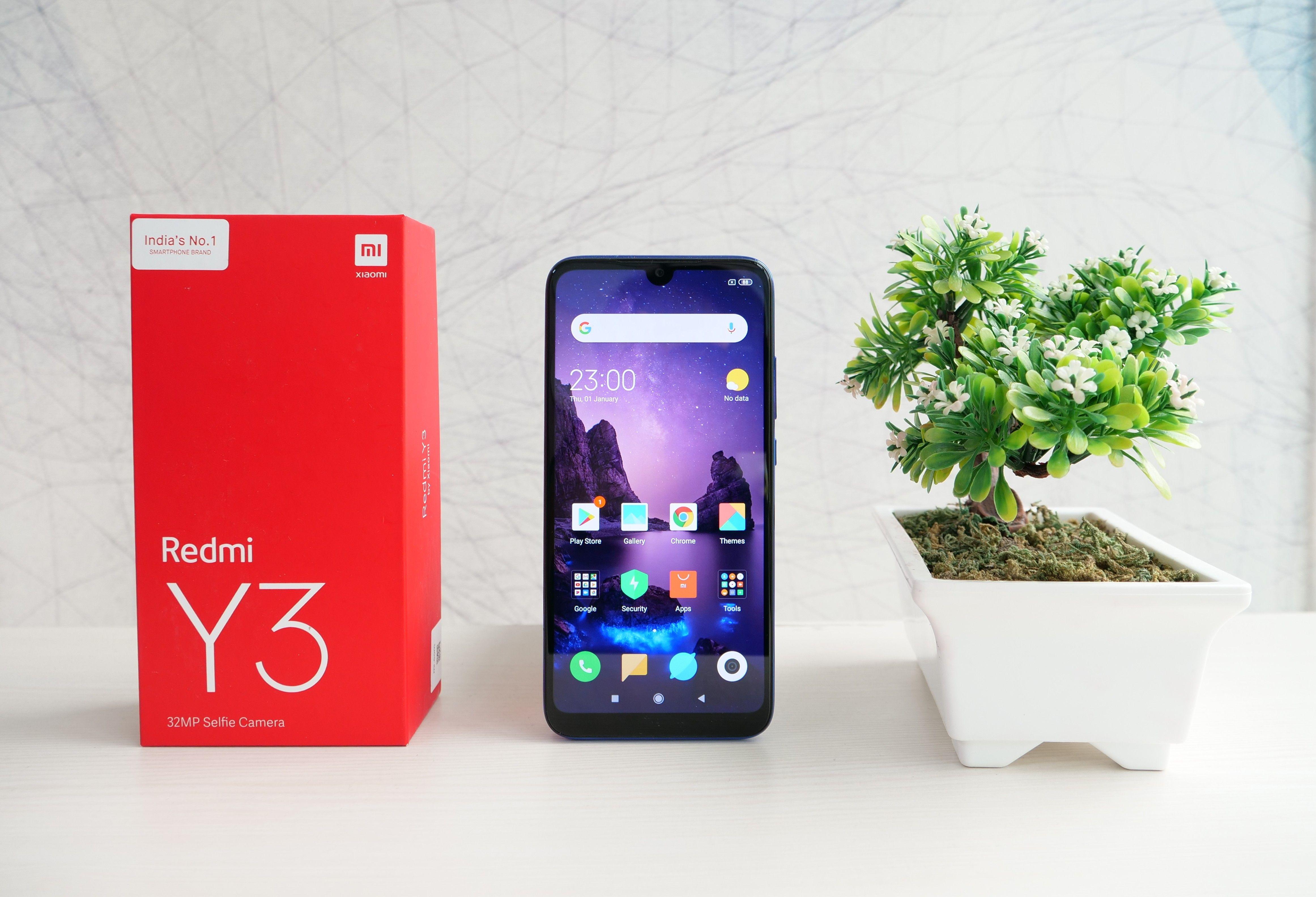Xiaomi Redmi Y3 Lead
