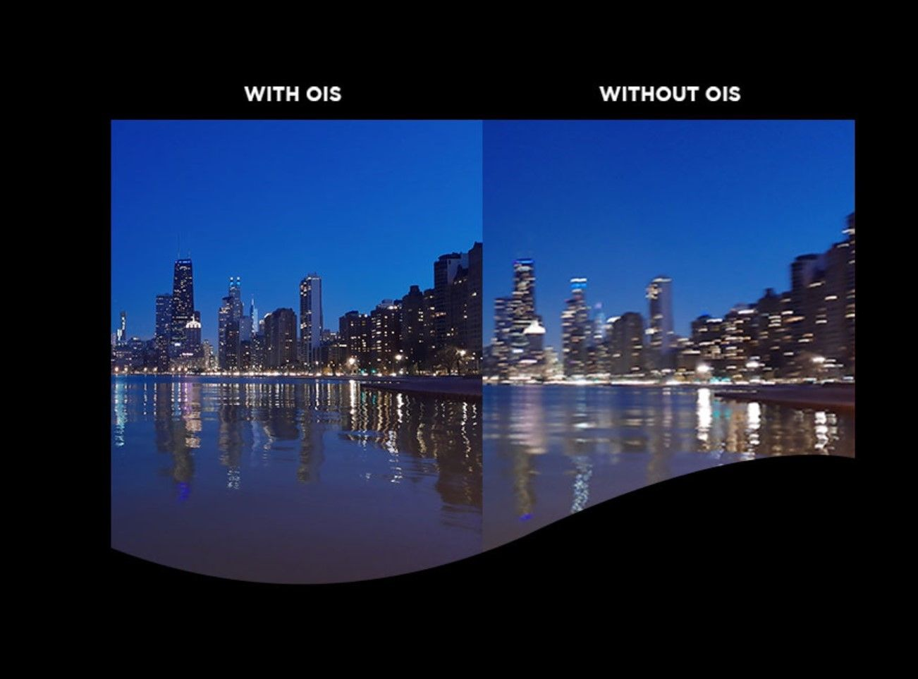 Motorola One Vision OIS Camera Comparison