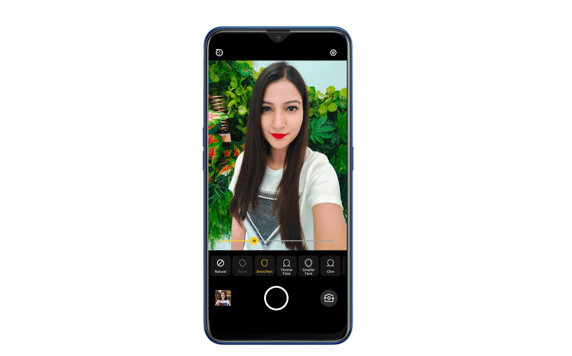 OPPO A9 16MP Selfie Camera AI Beautification Features