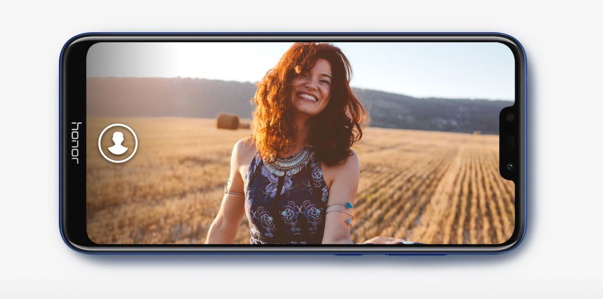 HONOR 8C 8MP Selfie Camera