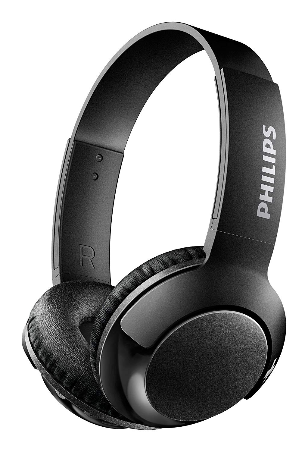 Philips Bass+ On Ear Wireless Bluetooth Headphones Black