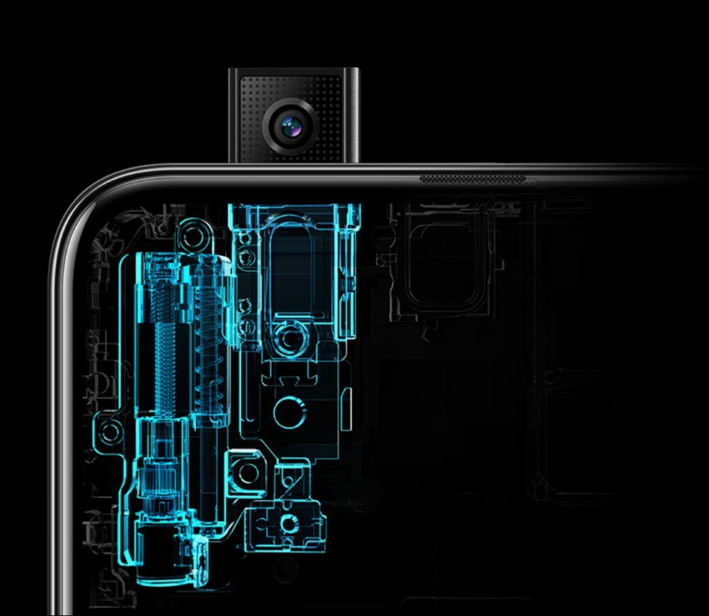 HONOR 9X Pop Up Selfie Camera