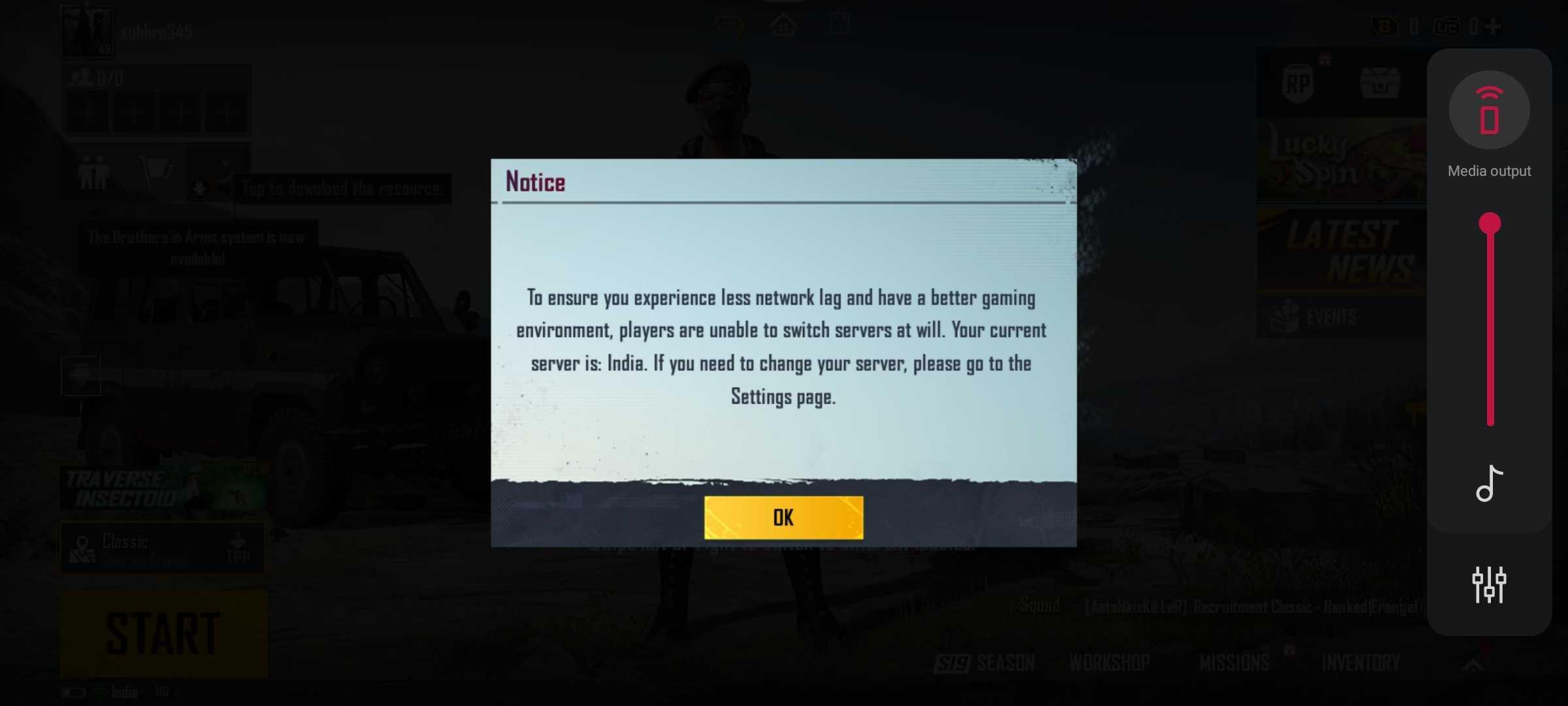 Battlegrounds Mobile India Screenshot