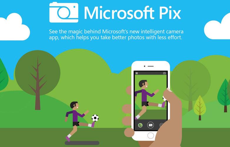 Microsoft Pix - iOS Camera App
