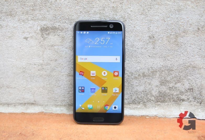 The HTC 10 has an excellent LCD display