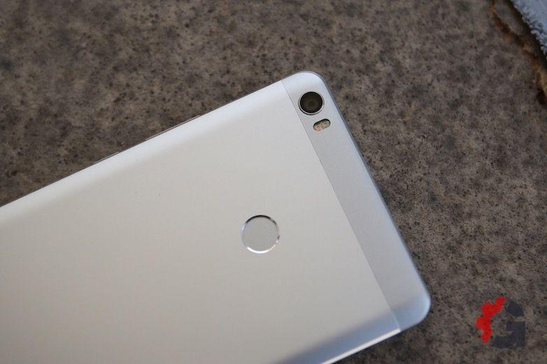 Xiaomi Mi Max finger print sensor