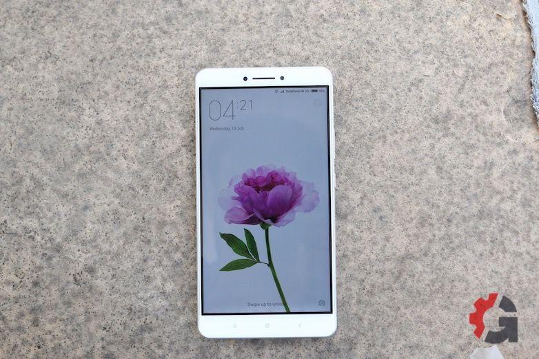 Xiaomi Mi Max front view