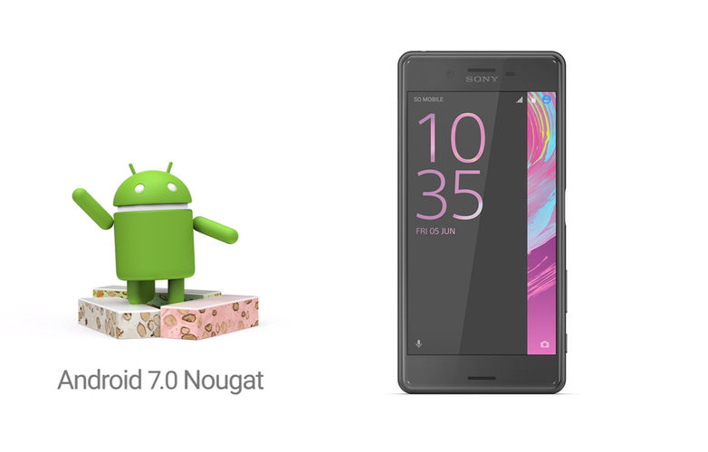 Sony Xperia Android 7.0 Nougat Update List