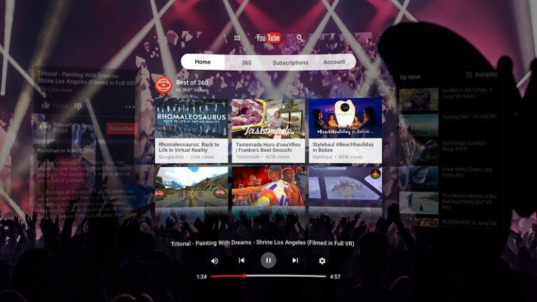 YouTube-VR-app