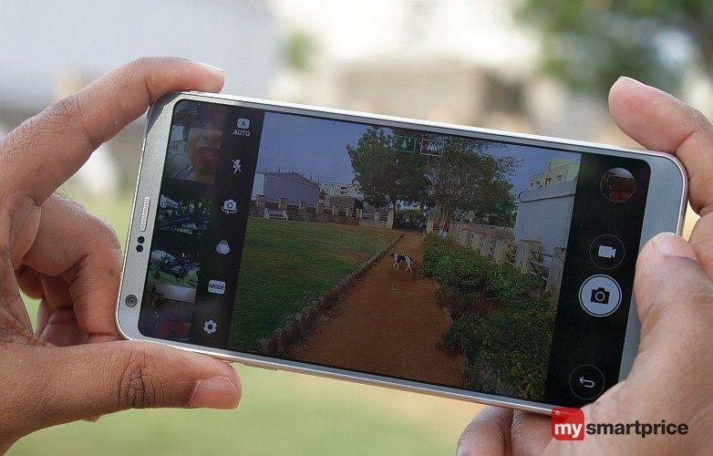 LG G6 Review 13 Camera UI