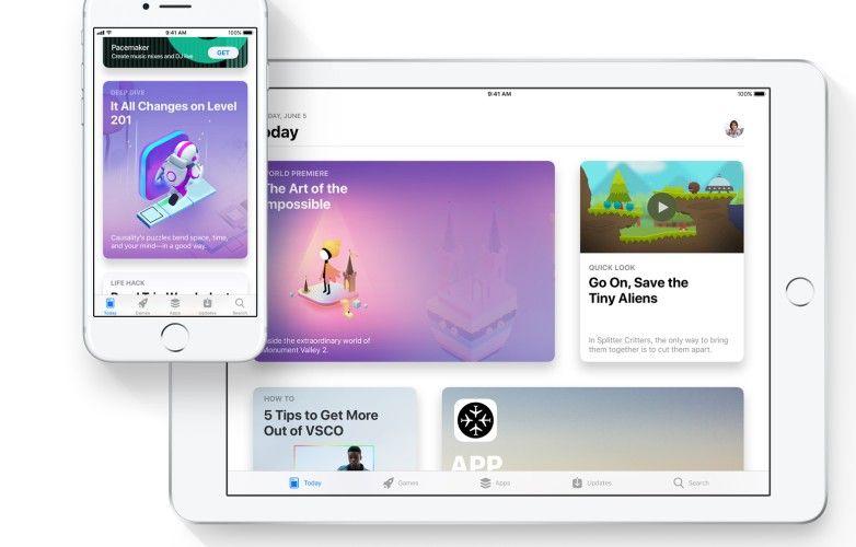 iOS 11 WWDC 2017 App Store
