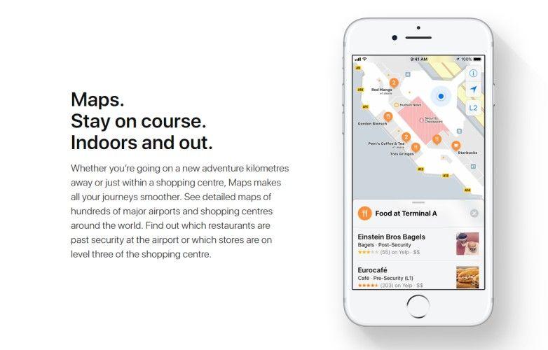 iOS 11 WWDC 2017 Maps