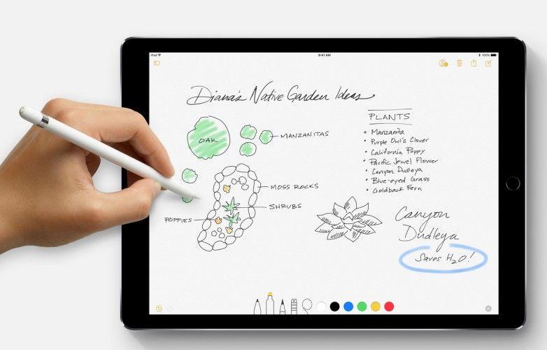iOS 11 WWDC 2017 Pencil