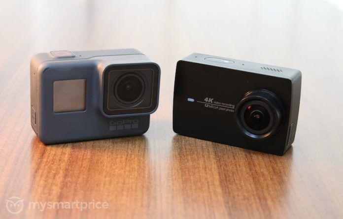 GoPro Hero5 Black vs Yi 4K