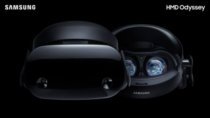 1a335008b903 Samsung announces HMD Odyssey Mixed Reality headset with built-in ...