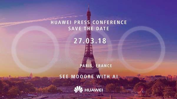 Huawei P20 Launch Invite