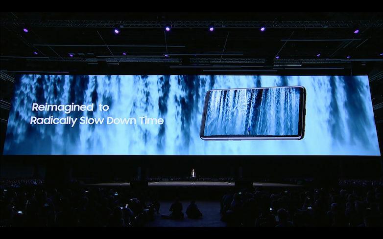 Samsung Galaxy S9 Slow Motion Camera