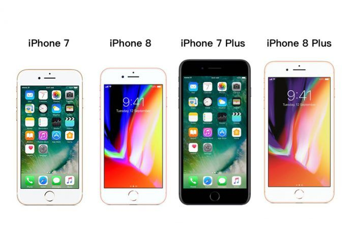 iPhone 7 vs iPhone 8 vs iPhone 7 Plus vs iPhone 8 Plus