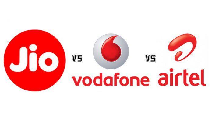 Reliance Jio vs Vodafone vs Airtel: Cheapest Prepaid Recharge Data