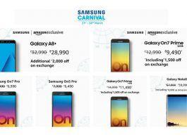 Samsung Carnival Sale