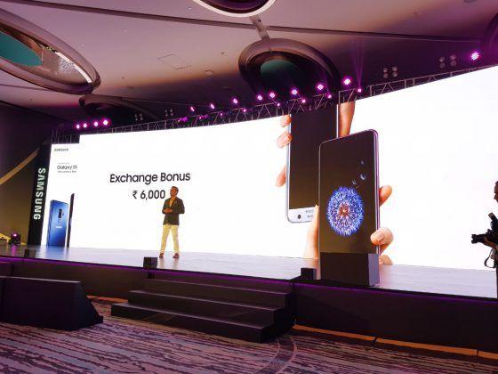 Samsung Galaxy S9 Plus launch exchange bonus