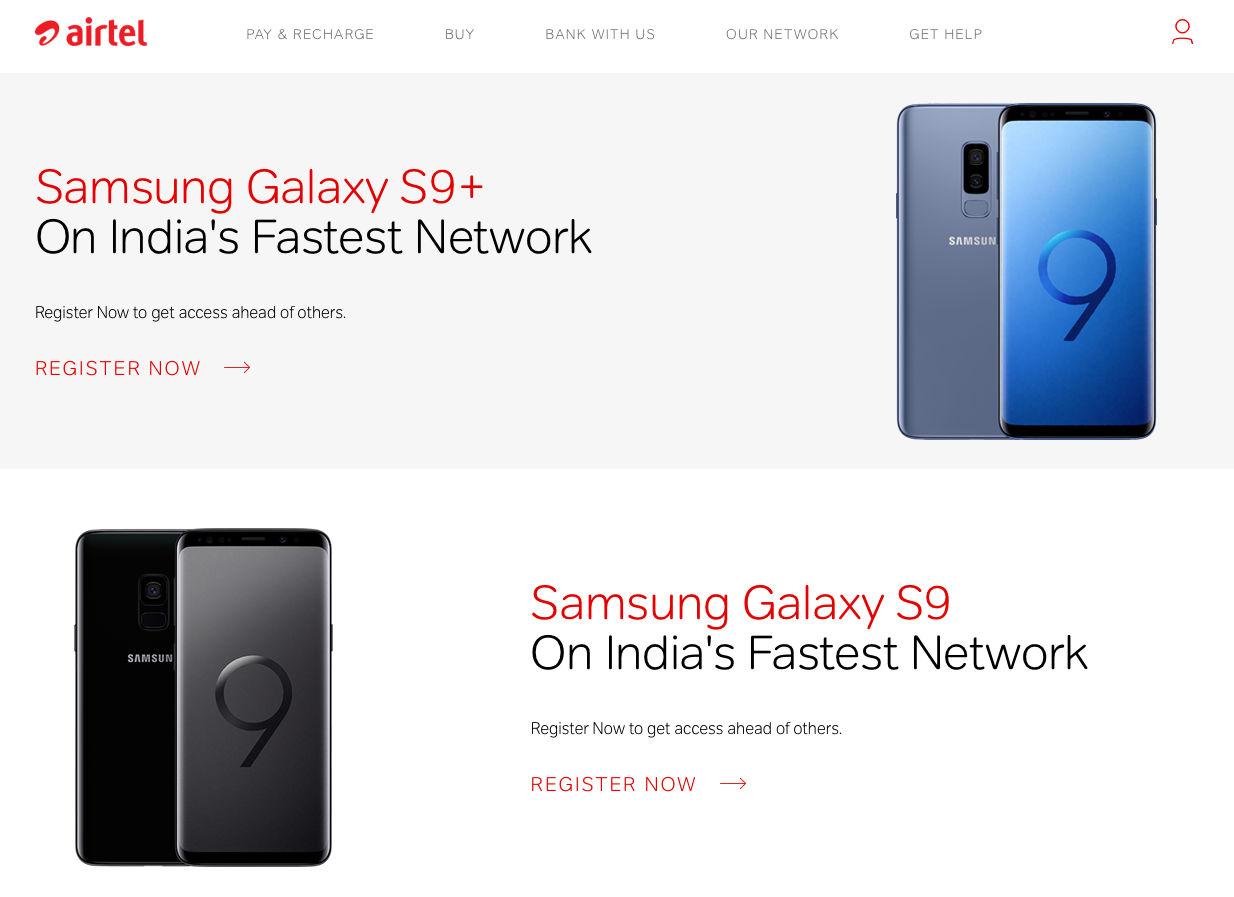 Samsung Galaxy S9, S9 Plus to Launch in India via Flipkart, Airtel