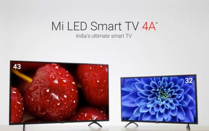 Xiaomi Mi TV 4A 32-inch and 43-inch launched in India: Price