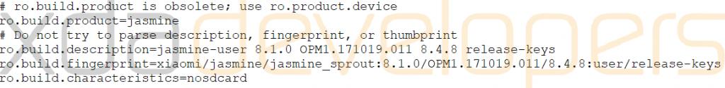 Xiaomi Mi A2 Jasmine Sprout