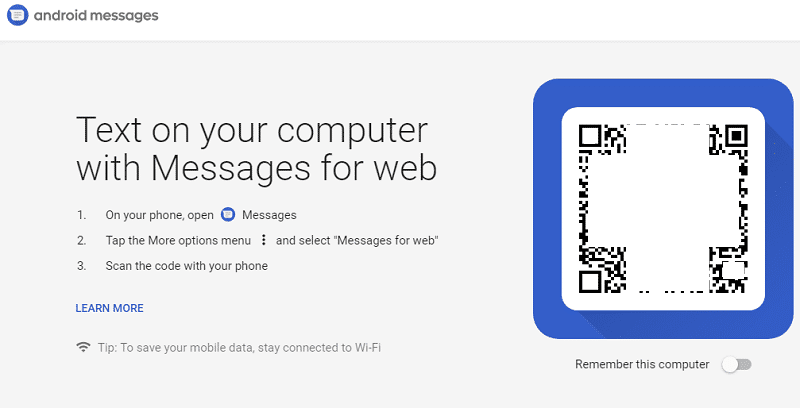 Android Messages Web Version Goes Live: Google launches Web