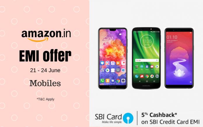 Amazon SBI Offer: Realme 1, Moto G6, iPhone 7, Huawei P20