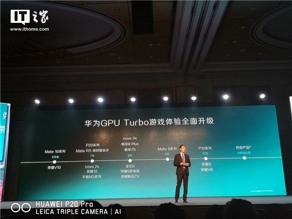 Huawei GPU Turbo Device List