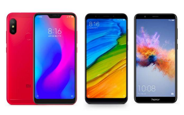 Redmi 6 Pro vs Redmi Note 5 vs Honor 7X: Price in India