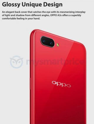 OPPO A3s Glass Back