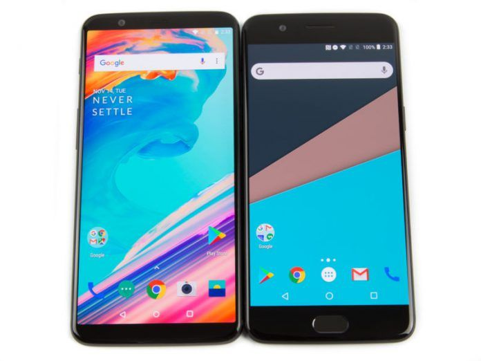 OnePlus 5, 5T Get Idea VoLTE, Project Treble With Latest